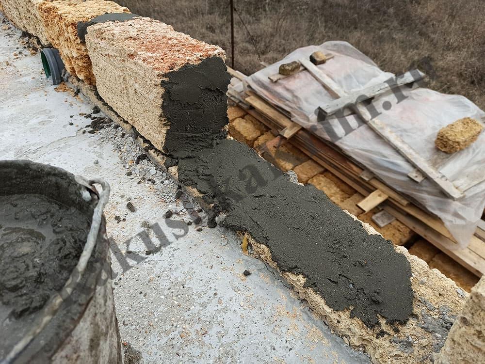 Раствор цементный для кладки камня соотношения керамзитобетона